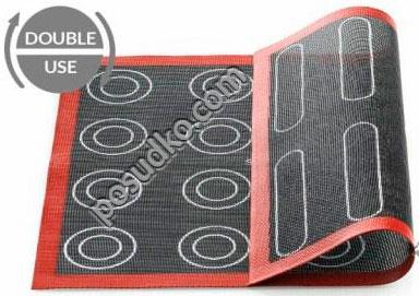 Професійний силікон Лист для випічки перфорований двохсторонній 400 х300 мм (Silikomart)