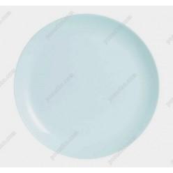 Diwali Тарілка кругла без поля мілка біла d-275 мм (Luminarc, France)