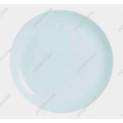 Diwali Тарілка кругла без поля мілка біла d-250 мм (Luminarc, France)