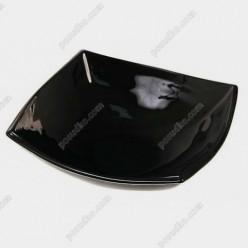Quadrato Салатник квадратний чорний 140 х140 мм, h-50 мм 350 мл (Luminarc, France)