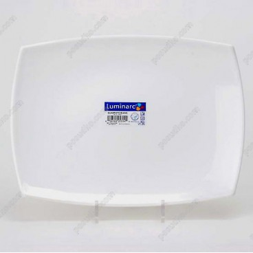 Quadrato Блюдо прямокутне біле 350 х260 мм (Luminarc, France)