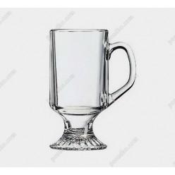 Irish glass Чашка на ніжці ручка на чаші Bock 290 мл (Luminarc, France)