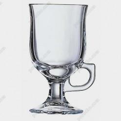 Irish glass Чашка на ніжці ручка на ніжці d-76 мм, h-140 мм 250 мл (Luminarc, France)