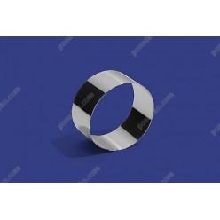 Кільце гарнірне Форма для формовки та випічки кругла d-75 мм, h-35 мм 150 мл (Steelay)