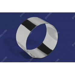 Кільце гарнірне Форма для формовки та випічки кругла d-75 мм, h-70 мм 310 мл (Steelay)