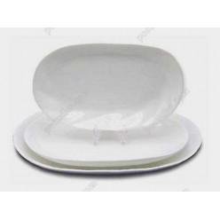 Helfer white Блюдо овальне 210 х130 мм (Helfer)