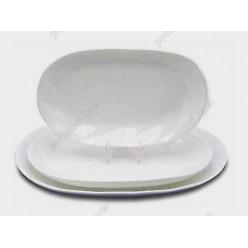 Helfer white Блюдо овальне 240 х160 мм (Helfer)