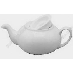Helfer white Чайник заварювальний з кришкою d-135 мм, h-80 мм 550 мл (Helfer)