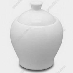 Helfer white Цукорниця з кришкою d-110 мм, h-110 мм 300 мл (Helfer)