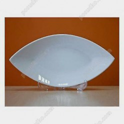 Helfer white Блюдо у формі човна 250 х130 мм (Helfer)