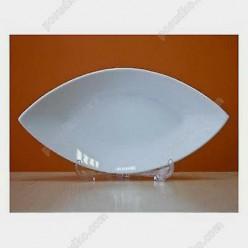 Helfer white Блюдо у формі човна 300 х160 мм (Helfer)