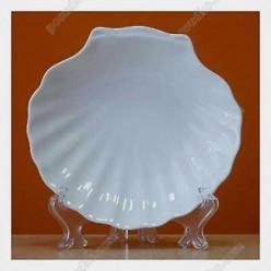 Helfer white Блюдо у формі мушлі d-150 мм (Helfer)
