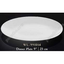 Wilmax Тарілка кругла без поля мілка d-230 мм (Wilmax)