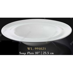 Wilmax Тарілка кругла у формі капелюха d-255 мм 350 мл (Wilmax)