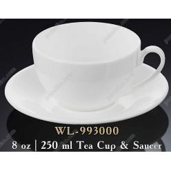 Wilmax Чашка для чаю з блюдцем 250 мл (Wilmax)