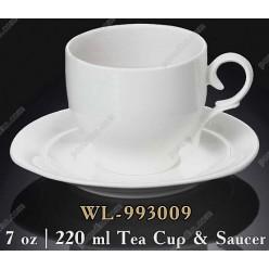 Wilmax Чашка для чаю з блюдцем 220 мл (Wilmax)