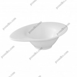 Infell Салатник овальний з вушком 205 х130 мм, h-65 мм 250 мл (Alt porcelain)