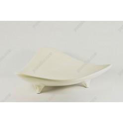 Infell Блюдо трикутне на ніжках L-265 мм (Alt porcelain)
