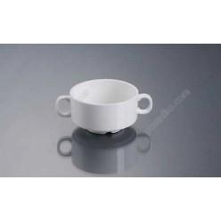 Alt porcelain Бульйонниця з ручками d-110 мм, h-58 мм 350 мл (Alt porcelain)