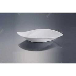 Alt porcelain Соусник у формі човна вигнутий 130 х75 мм, h-35 мм 60 мл (Alt porcelain)
