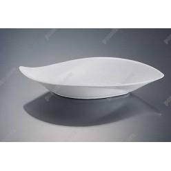 Alt porcelain Соусник у формі човна вигнутий 185 х100 мм, h-30 мм 130 мл (Alt porcelain)