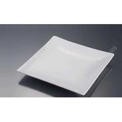 Alt porcelain Тарілка квадратна без поля мілка 270 х270 мм (Alt porcelain)