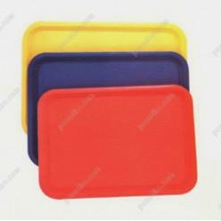 Таця Піднос прямокутний червоний 460 х360 мм (FoREST)