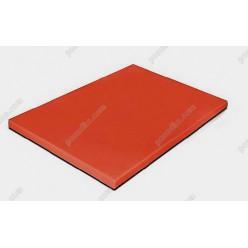 Board plastic 20 Дошка розробна червона 400 х300х20 мм (Durplastics)