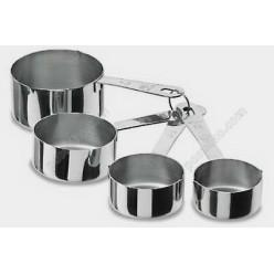 Kitchen Мірні ківшики 4 шт 250, 120, 80, 60 мл (Lacor)