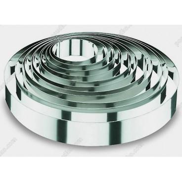 Кільце гарнірне Форма для формовки та випічки кругла d-200 мм, h-60 мм 1,8 л (Lacor)