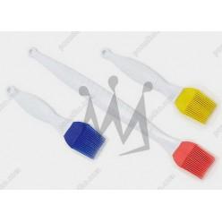 Кондитеру Пензлик кухонний силіконовий жовтий L-185 х40 мм (Silikomart)