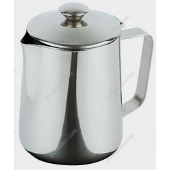 Coffee tea accessori Кавник з кришкою d-88 мм, h-140 мм 600 мл (APS)
