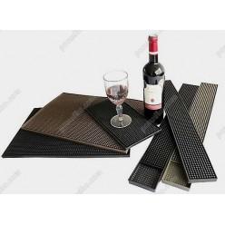 Спіл-стоп Килимок барний гумовий широкий чорний 450 х300 мм (FoREST)