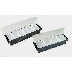 Барне приладдя Ящик барний з кришкою 6 відділень 500 х160х100 мм (FoREST)
