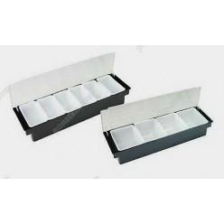 Барне приладдя Ящик барний з кришкою 5 відділень 500 х160х100 мм (FoREST)