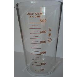 Для вимірів Мензурка ГОСТ1770-74 скло  500 мл (Склоприлад)