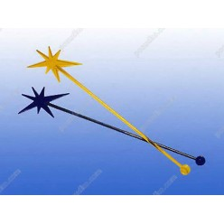 Свізл стік Мішалка зірка L-190 мм (ШвидкоFF)