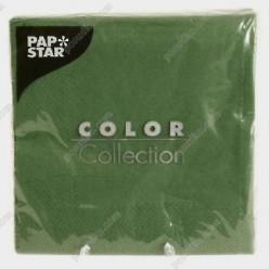 Napkin Серветка паперова тришарова зелена 330 х330 мм (PapStar)