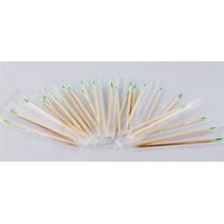 Бамбукові Зубочистки у целофані з ментолом індивідуально запаковані L-65 мм (Інші бренди)