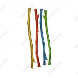Свізл стік Мішалка пагін бамбуку мікс кольорів L-205 мм (ШвидкоFF)