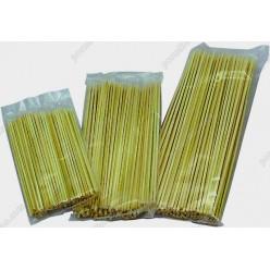 Бамбукові Шампура для шашлику L-300 мм, d-2,5 мм (China)