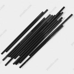 Martini Трубочки прямі круглі чорні d-4 мм, L-125 мм (Пласт)