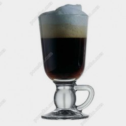 Irish glass Чашка на ніжці ручка на ніжці 250 мл (Pasabahce)