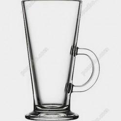Irish glass Чашка конус з ручкою на чаші Colombian 250 мл (Pasabahce)