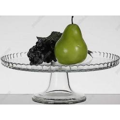 Pateiseri Блюдо кругле на ніжці для фруктів d-280 мм, h-100 мм (Pasabahce)