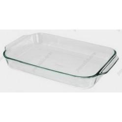 Pyrex glass Форма для запікання та випічки прямокутна з ручками 390 х250 мм, h-60 мм (Pyrex, ARC international)