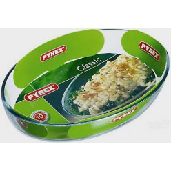 Pyrex essentials Форма для запікання та випічки овальна 300 х210 мм, h-60 мм (Pyrex, ARC international)
