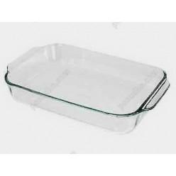 Pyrex glass Форма для запікання та випічки прямокутна з ручками 350 х230 мм, h-60 мм (Pyrex, ARC international)