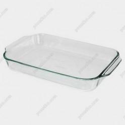 Форма прямоугольная с ручками Pyrex glass