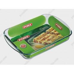 Pyrex glass Форма для запікання та випічки прямокутна 350 х230 мм, h-50 мм 2,6 л (Pyrex, ARC international)